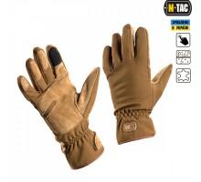Тактичні рукавиці M-Tac Tactical Waterproof Coyote