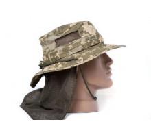 Панама Outdoor Neck Protection Pixel UA (із захистом шиї)