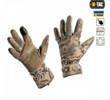 Тактичні рукавиці M-Tac Tactical Waterproof MM14 (Український піксель)