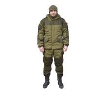 Зимовий костюм Горка Хакі (утеплений флісом)