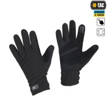 Тактичні рукавиці M-Tac Winter Tactical Windblock 380 Black