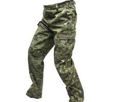Камуфляжні тактичні брюки Digital Woodland
