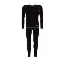 Чоловіча термобілизна Baft X-Line Men Black XL110 (мікрофліс)