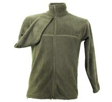 Флісовий светр, оливковий