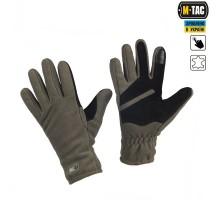 Тактичні рукавиці M-Tac Winter Tactical Windblock 380 Olive