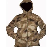 Флісовий светр, камуфляж A-TACS Camo
