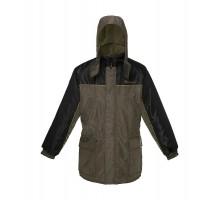 Зимова куртка Зеніт-С (колір хакі + чорний)