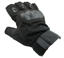 Тактичні рукавиці Oakley Half-Finger Black (безпалі)