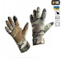 Тактичні рукавиці M-Tac Tactical Waterproof MC (Мультикам)