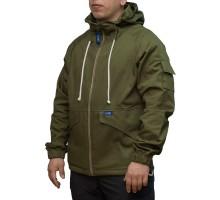 Куртка Klost Штормовка Хакі (100% Cotton, водовідштовхувальне просочення)
