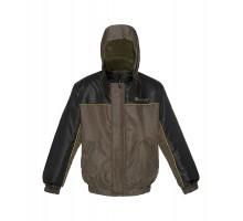 Зимова куртка Зеніт, колір хакі + чорний
