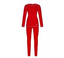 Жіноча термобілизна Baft X-Line Women Red XL210 (мікрофліс)