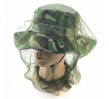 Антимоскітна сітка для голови Outdoor Olive (маскувальна)