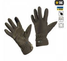 Тактичні рукавиці M-Tac Tactical Waterproof Olive