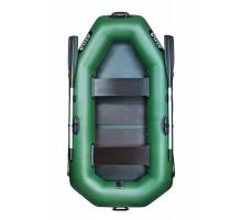 Двомісний надувний човен Ладья ЛТ-220-ДС зі сланевим настилом