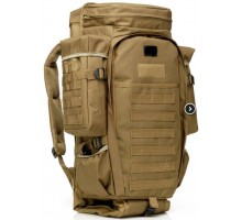 Тактичний рюкзак Esdy Hunter 60L Coyote