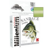Ліска Dragon Millenium Sandacz (0,22 - 0,30; світло-зелена; судак)