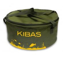 Відро для прикормки Kibas Line D 400C, з кришкою