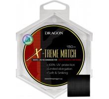 Матчева Жилка Dragon X-Treme Match Soft&Sinking (0,18 - 0,30; 150м; тонуча, чорна)