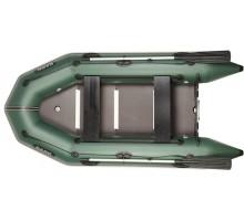 Двомісний моторний човен Bark ВT-290SD (суцільний розбірний настил, пересувні сидіння)