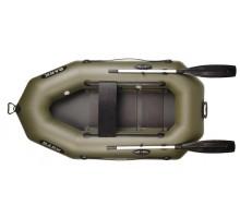 Одномісний надувний гребний човен Bark B-210C (з настилом)