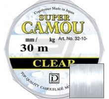 Повідочна Жилка Dragon Super Camou Clear 30m (0,08-0,22)