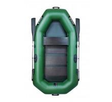 Одномісний надувний човен Ладья ЛТ-220-С (зі сланевим настилом)