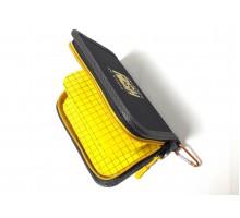 Гаманець для блешень Kibas Angry Fish Yellow L