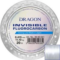 Флюорокарбонова ліска Dragon Invisible Fluorocarbon (0,12 - 0,60; 20м)