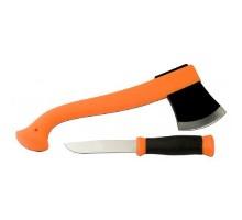 Набір Morakniv Outdoor Kit Orange Ніж Outdoor 2000+Сокира Camping axe Нержавіюча сталь Помаранчевий